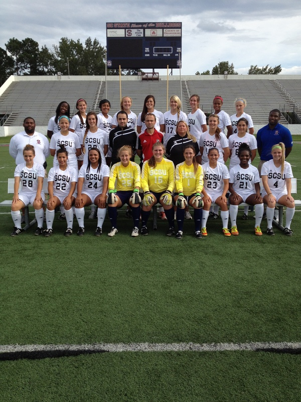 2012 South Carolina State Women's Soccer Team