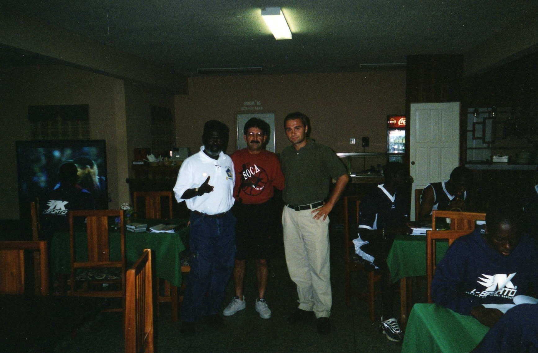 With Rene Simoes in Trinidad and Tobago