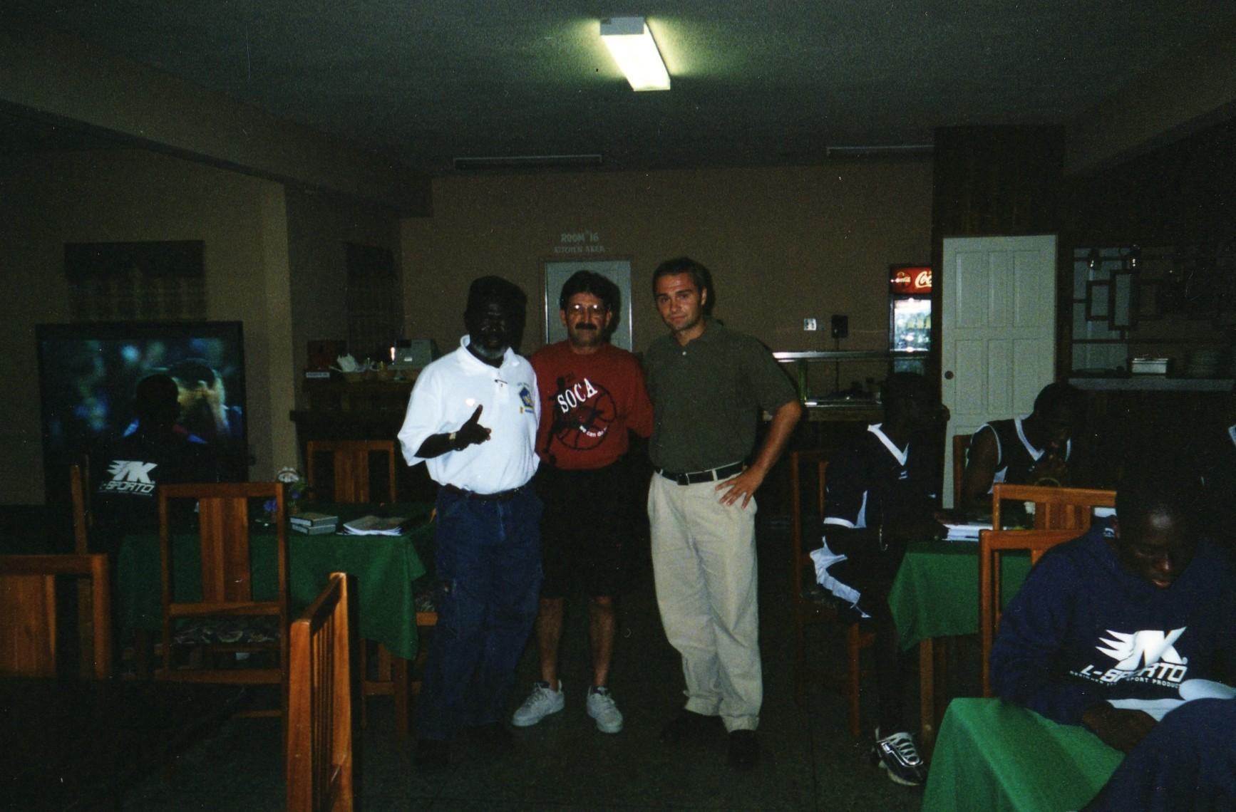 With Rene Simoes