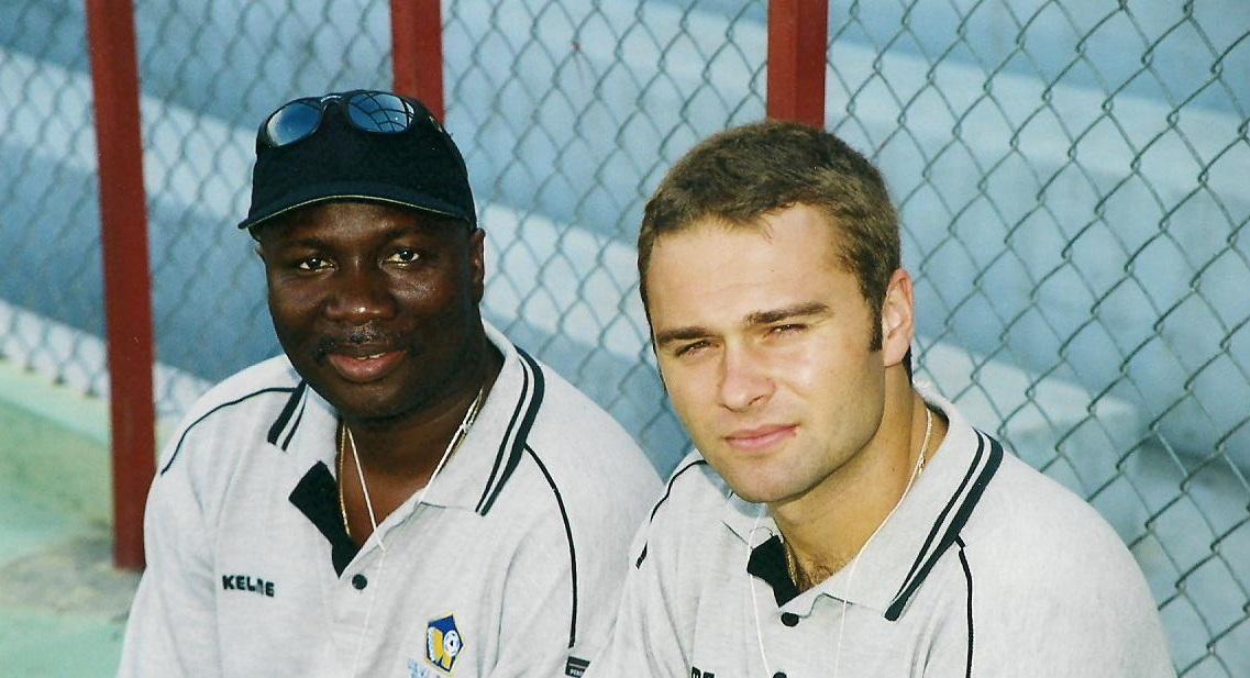 """With Hugh """"Everton"""" Nicholas"""